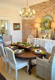 warm vintage dining rooms and zones