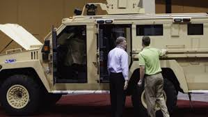Defense Department gives local police equipment designed for ...