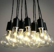 light bulbs chandeliers best bulb chandelier ideas on hanging for within edison plan 13