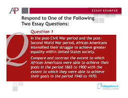 sample questions a p u s history