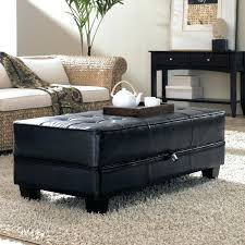 tufted coffee table square ottoman leather extra large with shelf round squ