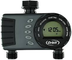 find many great new used options and get the best deals for orbit two port digital timer water controller two diffe areas new in pack at the