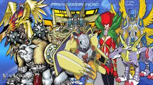 Digimon Digivolution Chart Season 1