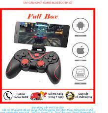 Tay Cầm Chơi Game X3 - Tay Cầm Bluetooth Chơi Game Điện Thoại Máy Tính  Smart TV Kết Nối Ổn Định Hỗ Trợ Đa Game - Bảo Hành 1 Năm