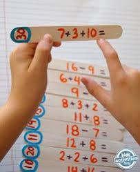 indoor activities for kids. DIY Math Puzzle Indoor Activities For Kids