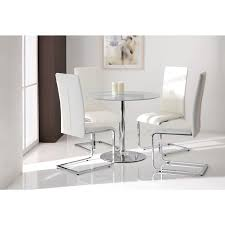 small glass dining table. Bathroom Exquisite Small Glass Dining Table Set 14 Wilkinson Orbit 90cm Round Clear A SS 2