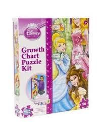 Disney Princess Age Chart Details About Disney 50 Piece Disney Princess Growth Chart Puzzle Kit Brand New Ages 6