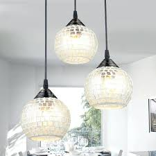 round glass pendant light clear shade ball glass pendant lights kitchen murano pendant light