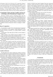 directors conflicts of interest different european legal g e de la rosa j shopovski