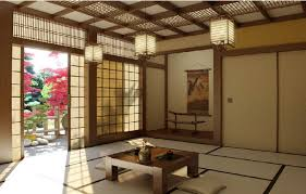 Modern Japanese Room Design Within Unique