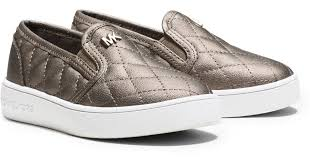 Lyst - Michael kors Girl's Ivy Quilted Metallic Slip-on Sneaker ... & Lyst - Michael kors Girl's Ivy Quilted Metallic Slip-on Sneaker, Toddler Adamdwight.com