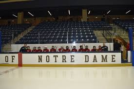 Compton Family Ice Arena Seating Chart We Got To Play On Notre Dames Ice For One Of Our Tournament