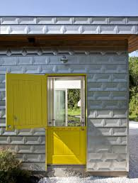 cottage style front doors7 Examples Of Colorful Doors That Brighten Up These Modern Homes