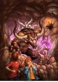 minotaur book cover fantasy ilration
