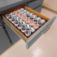 Capsule tray insert (sold separately) elevates capsules to make reading and organizing them easier. Polar Whale Coffee Pod Storage Organizer Tray Drawer Insert For Kitche Redhoundauto Com