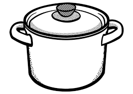 Small Picture Coloring page cooking pot img 29450