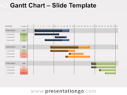 Gantt Chart Model Gantt Chart For Powerpoint And Google Slides