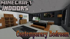 Minecraft Decorations For Bedroom Minecraft Indoors Interior Design Contemporary Bedroom Youtube