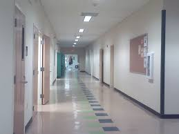 hallway at school. horrible hallway hits collisions in tms hallways at school