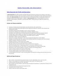 Sales Associate Job Description Resume Best 7816 Retail Associate Responsibilities Blackdgfitnessco