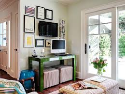 tags home offices middot living spaces. Fine Middot Home Office With Green Desk And Gallery Wall Throughout Tags Offices Middot Living Spaces HGTVcom