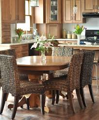 Granite Kitchen Table And Chairs Kitchen Beautiful Country Kitchen Table Decor With Beige