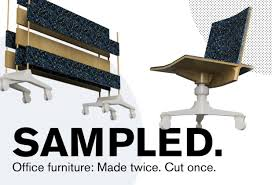 sustainable office furniture. SAMPLED. Is A Line Of Sustainable Office Furniture Made From NIKE Grind Materials Including Rubber Granulate And Fiber Fluff. The Initial