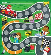 Racing Car Mini Chart Reward Chart Kids Toddler Reward