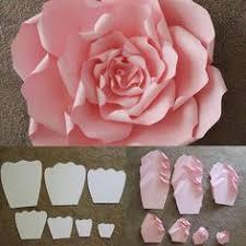 Diy Giant Paper Rose Flower 160 Best Giant Paper Flowers Images Giant Paper Flowers