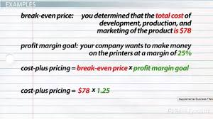 Pricing Definition amp; Cost Formula Method Plus Examples Video 6wTxq58x