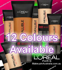 loreal infallible pro matte up to 24 hr demi matte finish foundation