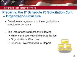 Gsa Fas Organization Chart Ppt How To Obtain A Gsa It Schedule 70 Contract Powerpoint