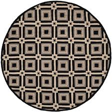 full size of bedroom trendy round indoor outdoor rugs 9 black gray safavieh frs483a 4r 64