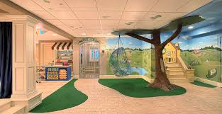 cool basement for kids. Simple Kids Cool Basement Ideas Eclectic With Fake Tree White Pillar And Basement For Kids