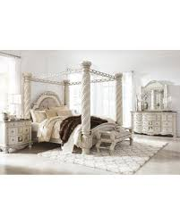 Hot Sale: Cassimore Collection King Bedroom Set with Canopy Bed ...