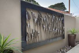 outdoor wall art metal large home