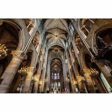 notre dame cathedral tempered glass wall art 80cm x 120cm 510x510