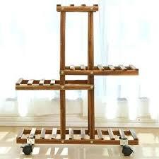 wooden plant stands indoor 4 tier wooden plant stand indoor outdoor garden planter flower pot stand wooden plant stands