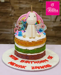 Unicorn Girls Birthday Cake Online Cake Shop Cake Feasta
