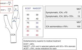 Ultrasound Measurement Of Carotid Stenosis Recommendations