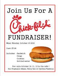 Fundraising Flyer Chickfil A Fundraiser Flyer Chick Fil A Fundraiser Stars 10
