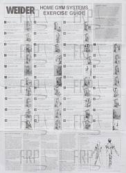 47 Unmistakable Weider 740 Exercise Chart