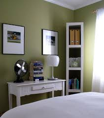 green wall paintGreen Paint Colors For Bedrooms at Home Interior Designing