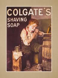 arleyart com colgate shaving soap vintage wall art gift manly bathroom wall decor masculine bathroom poster
