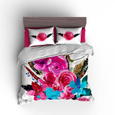 flowers feathers personalized bedding set duvet or comforte personalized bedding set duvet or comforter monogrammed duvet cover personalized duvet