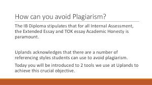 academic honesty in the ib diploma 8