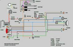 simple motorcycle wiring diagram for choppers and cafe racers evan anyone use an ultima wiring harness