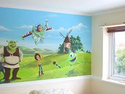 Toy Story Bedroom | Buzz Lightyear ~ Toy Story Mural