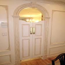 swinging kitchen door. Swinging Bathroom Doors Kitchen Door In Custom Double Swing Cafe Saloon From Plans