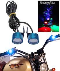 12v Blue Strobe Light Waterproof Red 12v Motorcycle Led Strobe Lights Motorcycle Bike Led Strobe Flash Warning Brake Light Lamp 12v Spotlight Blue